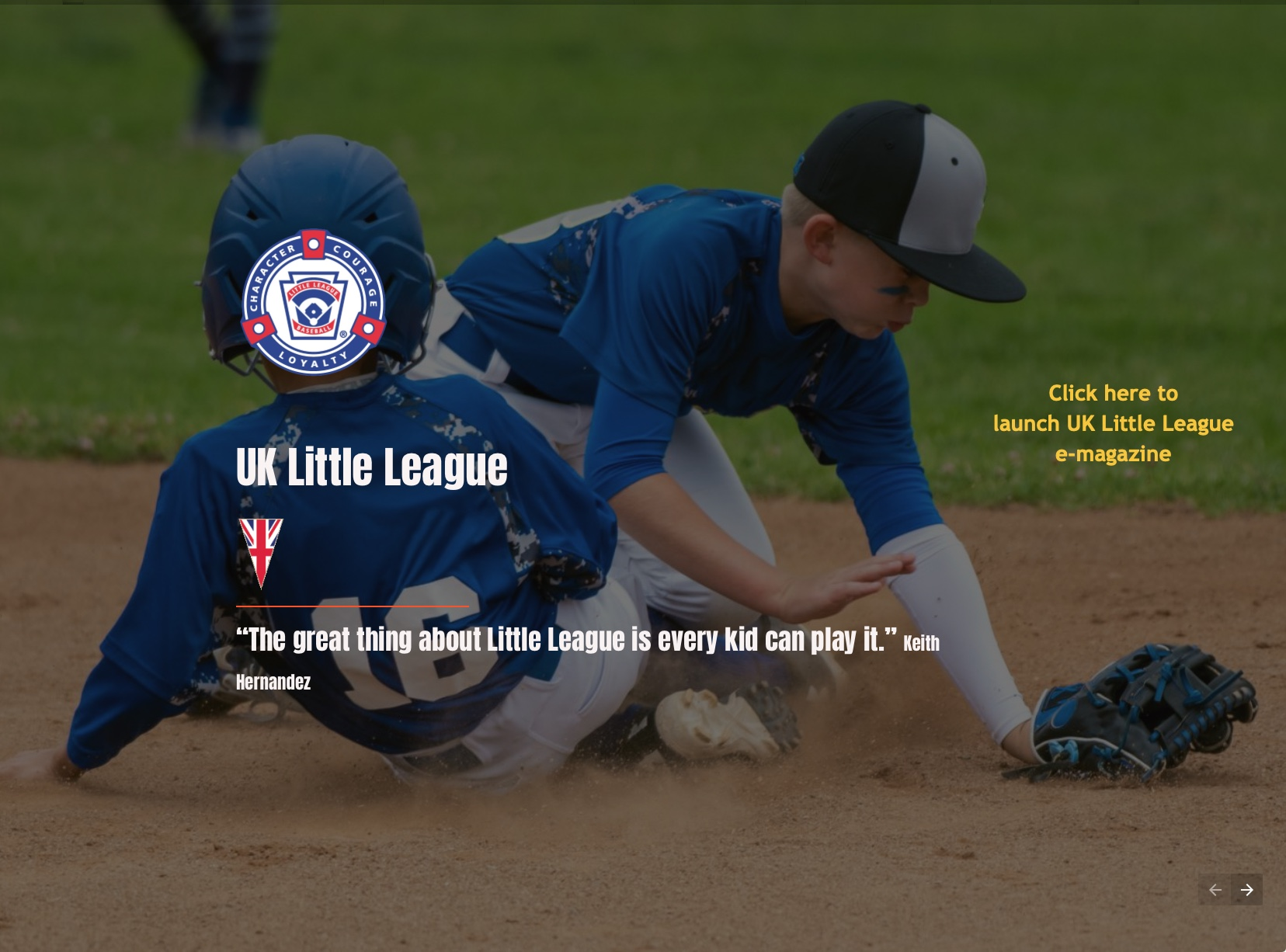 UK Little League e-Magazine