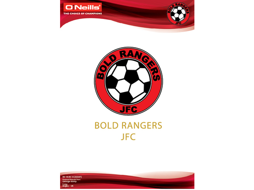 Welcome to Bold Rangers JFC Merchandise