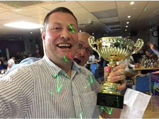 Premier Division Singles Cup Champion- Allan Matthews