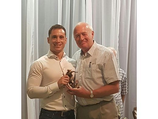 Gary Clarke awarded Player of the Year at ADSFL Presentation Evening