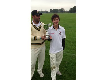 Match-winning pair Sarlim Rashid and Timon Blackmore (SNCC)