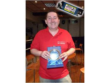 Runner up Keith Walkerdine