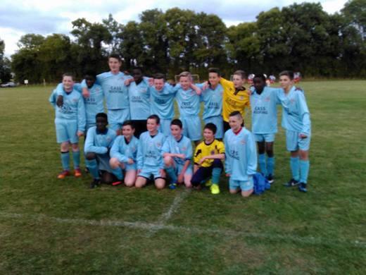 Under 14B Division 1 Team