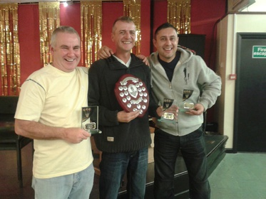 2014 3-a-Side Champions Terry Smith/Alan George/Eric Hunter