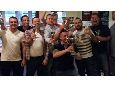 2015-16 TEAM CUP WINNERS THE PRINCE OF WALES A TEAM