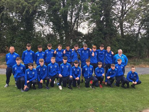 Galway Cup 2018 Under 15 Squad