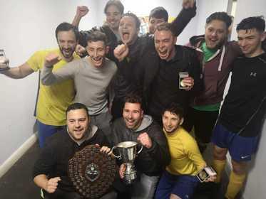 Maccabi Yellow - MJSL Premier Division Champions 2018-19
