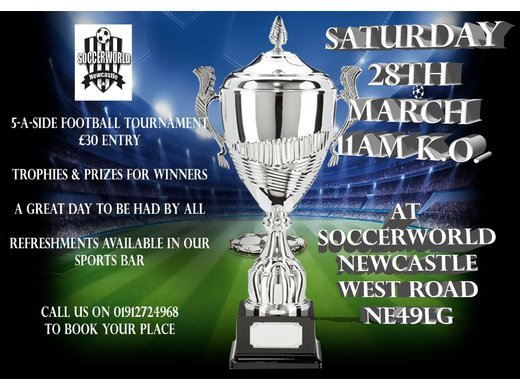 Spring Champions trophy Sat 28th March