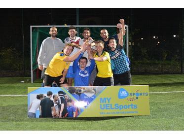 5-a-side Football Tournament Winners