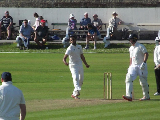 Hamza Ali bowled superbly