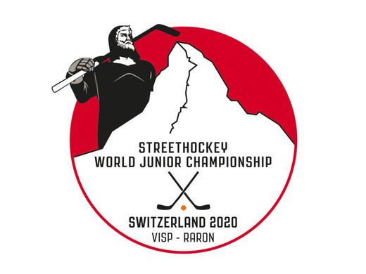 Coup d'envoi symbolique des championnats du monde junior de street hockey