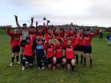 Bunratty United U15 - 2019 SuperValu U15 Cup winners