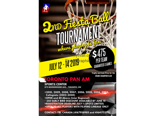 FBL to hold its 2nd Fiesta Ball at the PAN AM Sports Centre in Toronto