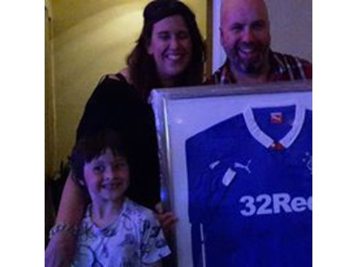 2016 WINNER OF SIGNED RANGERS STRIP