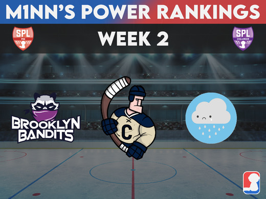 Week 2 Power Rankings - Pro / Challenger