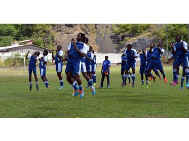 Grenada (pictured) during a training session on February 14, 2015.