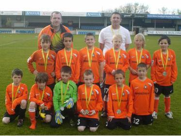 Hearts United Under 9`s League Shield Finalists