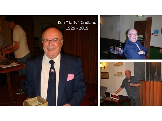 "Ken ""Taffy"" Cridland -  Horsham snooker legend"