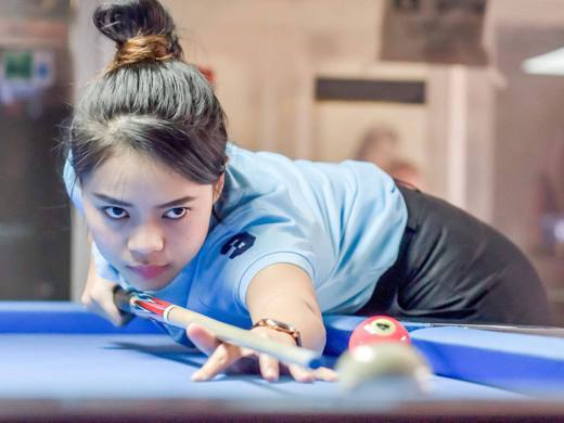 Baipat Siripaporn, 2015 Women's U21 World Snooker Champion