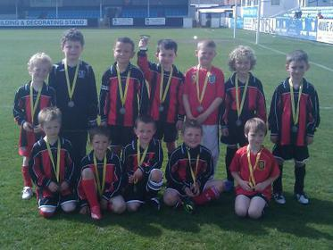 Aztec Madrid Under 7`s Sovereign Trophies Cup Finalists