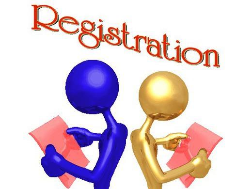 Registration / Fixture pick up evening