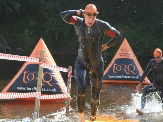 Shrewsbury Tri swim exit