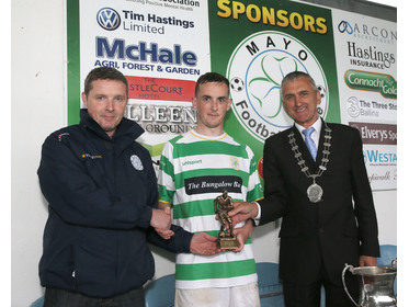 Adam McGowan - Man of the Match in McDonnell Cup Final 2017