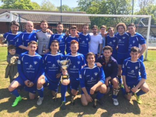 2016-17 Leeds Maccabi - Feldman Trophy Winners