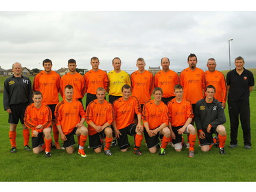 Sandwick Parish 2013 line-up for Lows Thornley Binders Cup