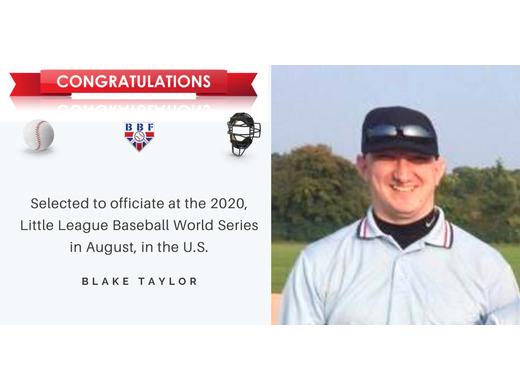 Congratulations Blake Taylor