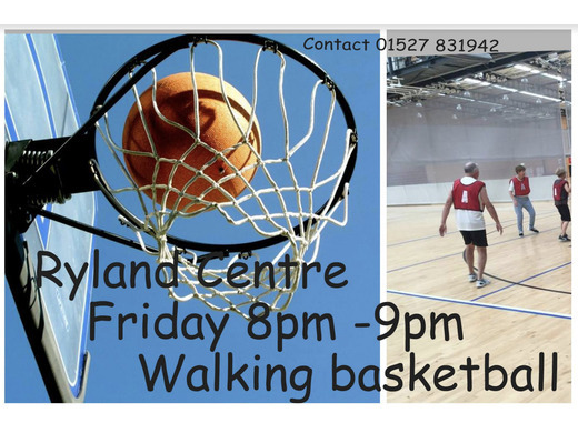 Walking Basketball in Bromsgrove