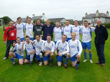 Winning South Ronaldsay squad in Highland Fuels Jolly Cup