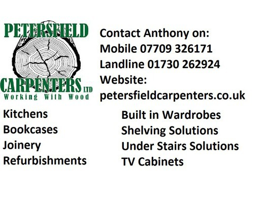 Call Anthony on 07709 326171 or 01730 262924