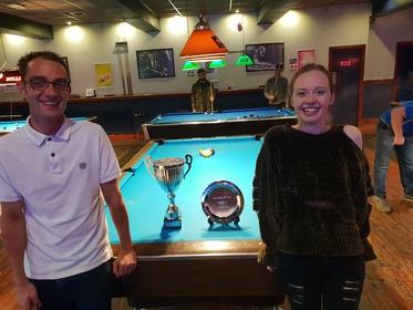 Mick Walkerdine Cup Finalists Summer 2018, Michael Thorpe & Ellis Green