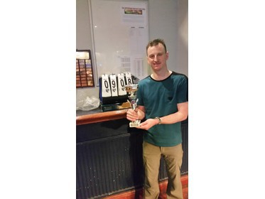Winter 15/16 Division 3 Champion Dave Edwards