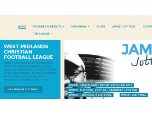 Friendly invitation from West Midlands Christian Football League