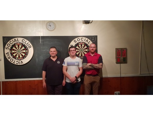 R/Up Trebles Cup 2018/2019- R. Newland, J. Whitting, M. Miller