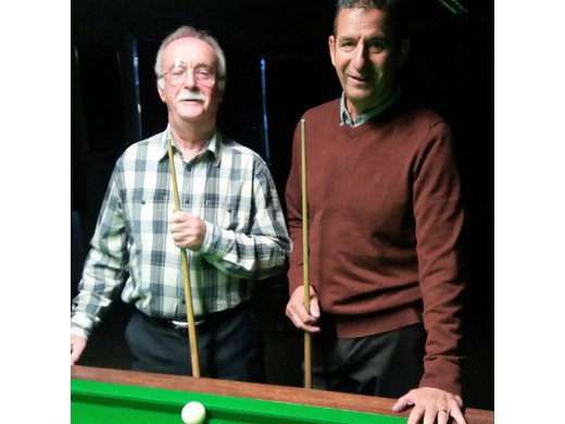 Dave Liley retains the Grand Masters