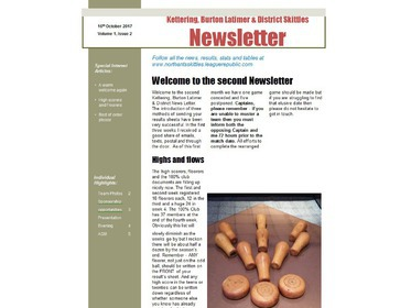 Second Newsletter