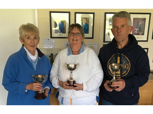 Janet Grundy, Mary Solway & Graham Cottey - Eric Lewis Drive winners