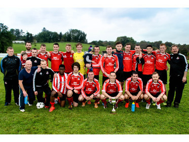 Ballyhaunis Town - Tim Hastings Volskwagon League One Champions