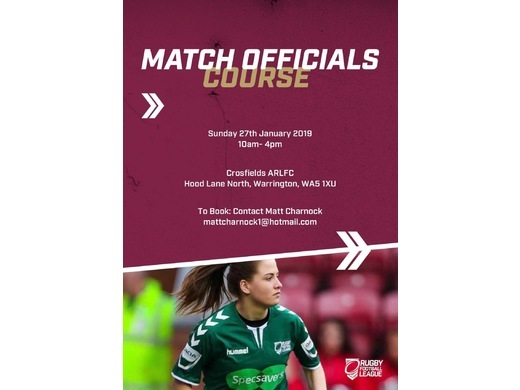 Match Officials Course