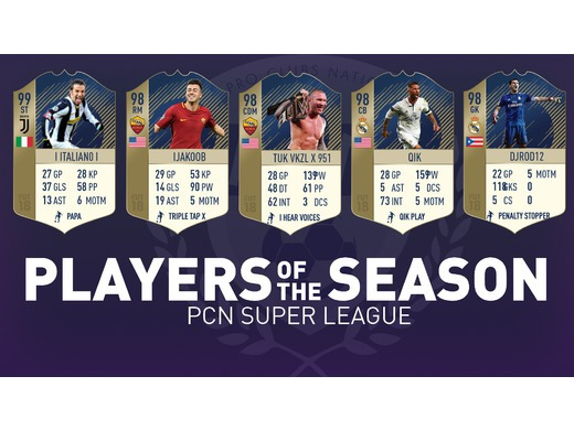 S6 Players of the Season