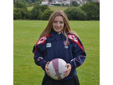 Orla Turnbull St Mary's Menston Yorkshire Netball selection September 2016