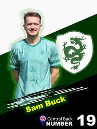Sam Buck Centre Back