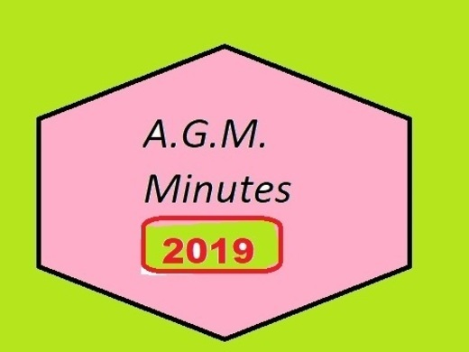 Minutes from 2019 A.G.M.