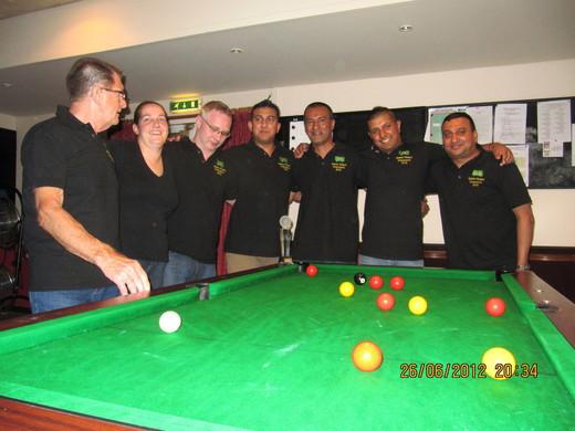 Master Robert A League A Champions 2012