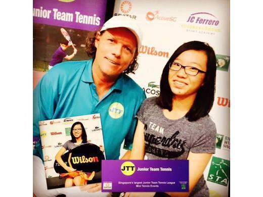 JTTL Sportsmanship Award - Justine Kwek Hui Xian