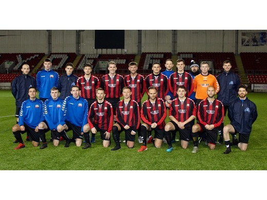Select team squad v Cumbernauld Colts 04/11/19