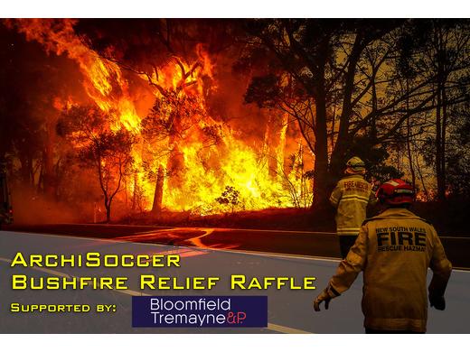 BTP ArchiSoccer Cup Bushfire Relief Raffle